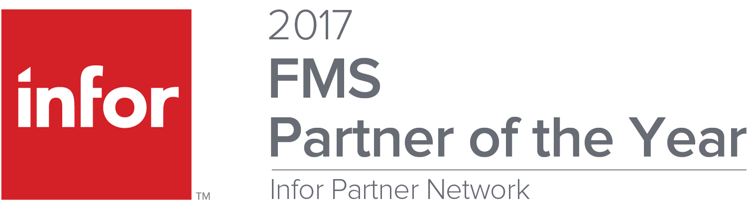 Infor Partner of the year 2017 TouchstoneEnergy